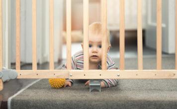 dziecięca bramka ochronna